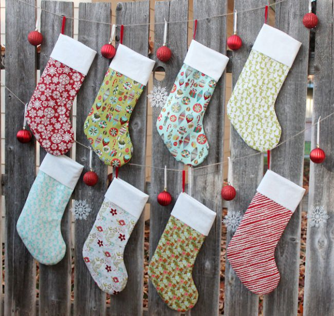 Christmas Stocking Tutorial {free pattern}