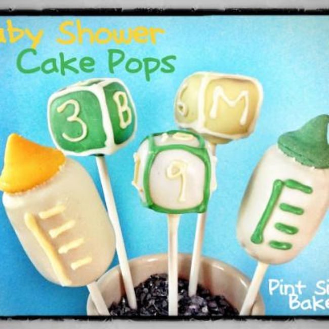 Baby Shower Cake Pop Perfection {Baby Shower Dessert Ideas}