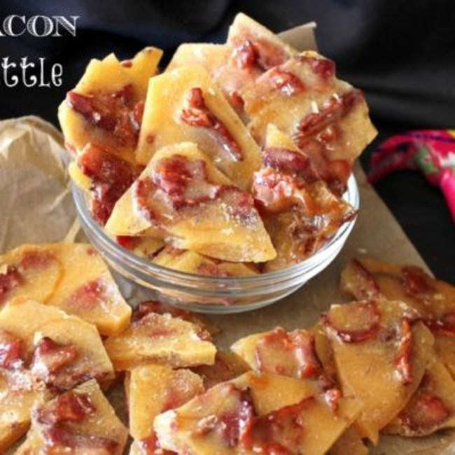 Homemade Bacon Brittle {Edible & Food Gifts}