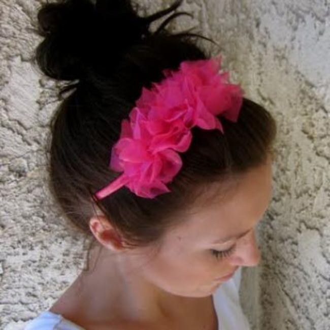 Ruffle Headband {Hair Accessories}