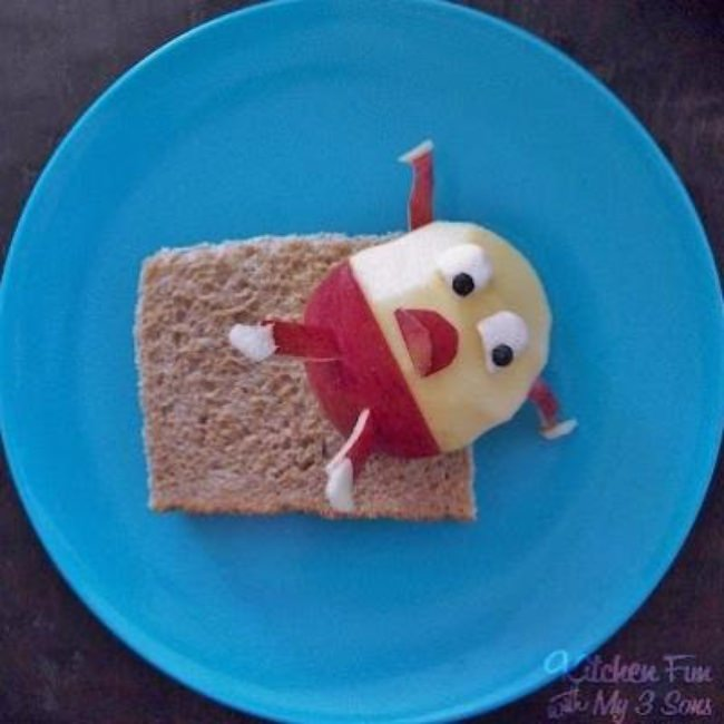 Humpty Dumpty fell off a Sandwich!
