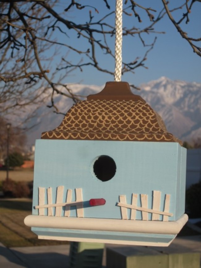 DIY Bird House Craft