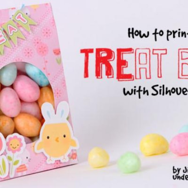 How to Print-and-Cut Treat Bags with Silhouette Studio {Silhouette}