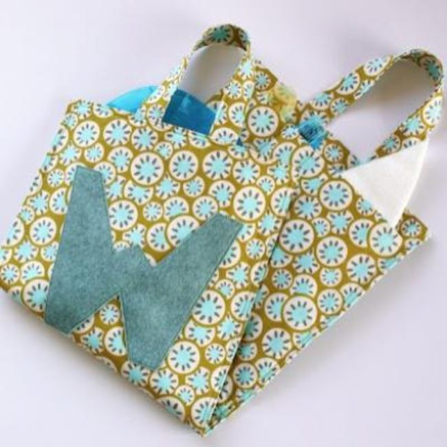 Picnic Placemat Tote Tutorial