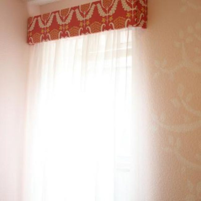 DIY Cornice Box {Window Treatment}