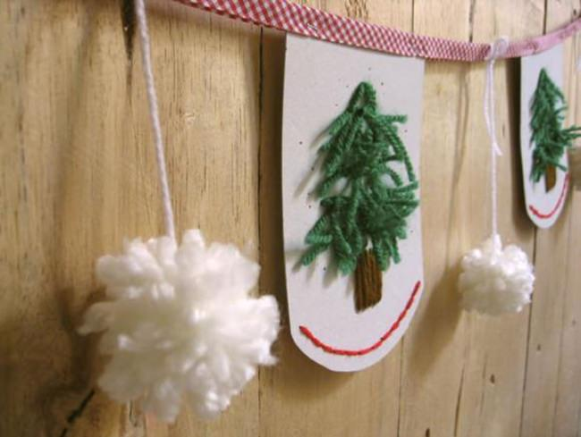 Handmade Embroidered Garland Tutorial