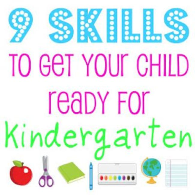 9 Ways to Get Your Child Ready for Kindergarden {Resources}