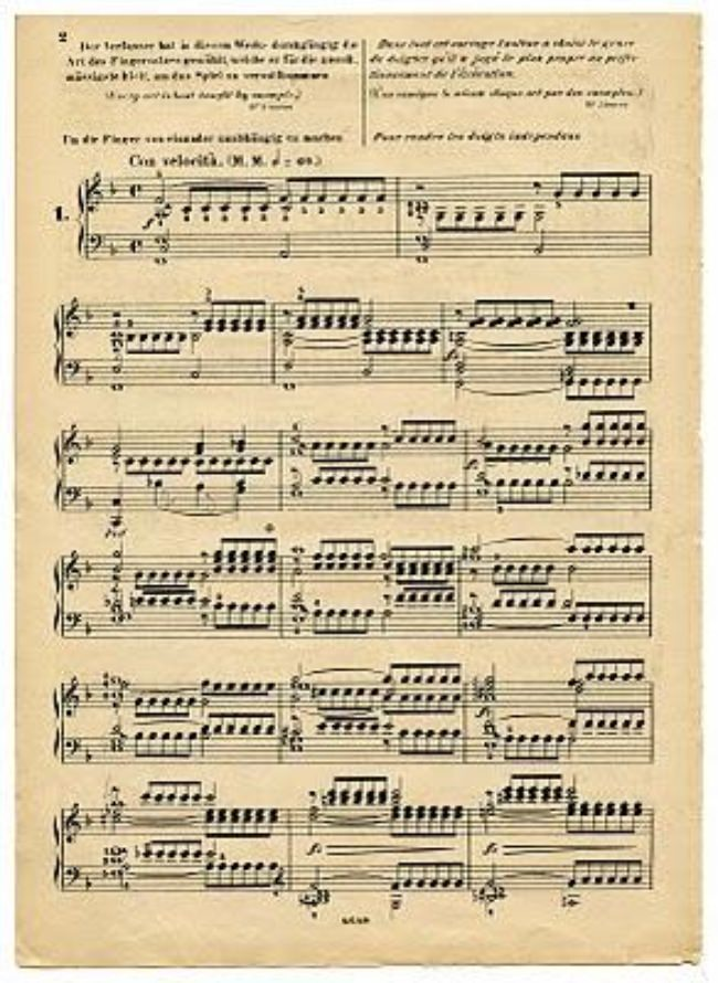 Printable Antique Sheet Music