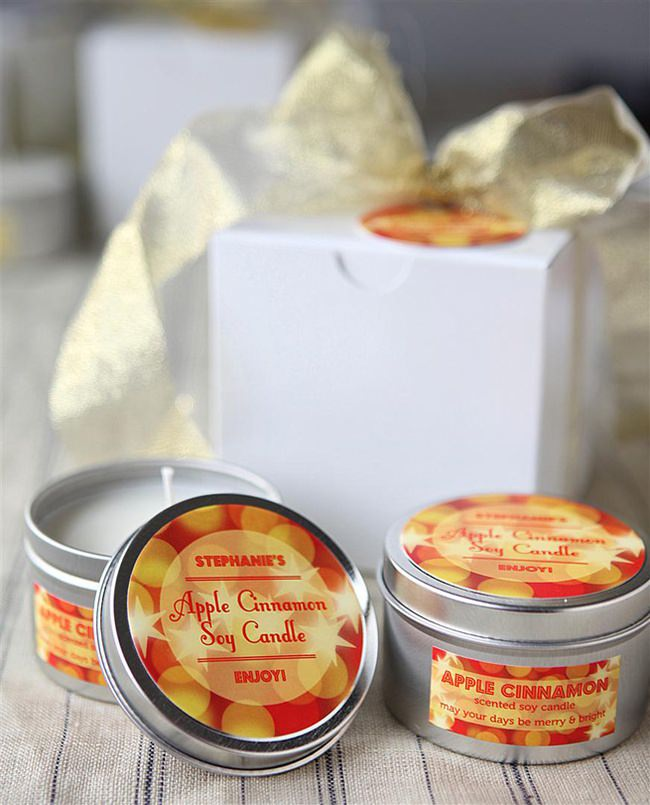 Handmade Soy Tin Candles