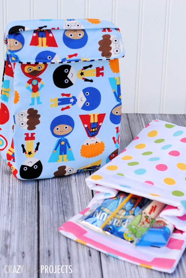 Insulated Lunchbox Pattern {tutorial}