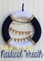 Summer Nautical Wreath