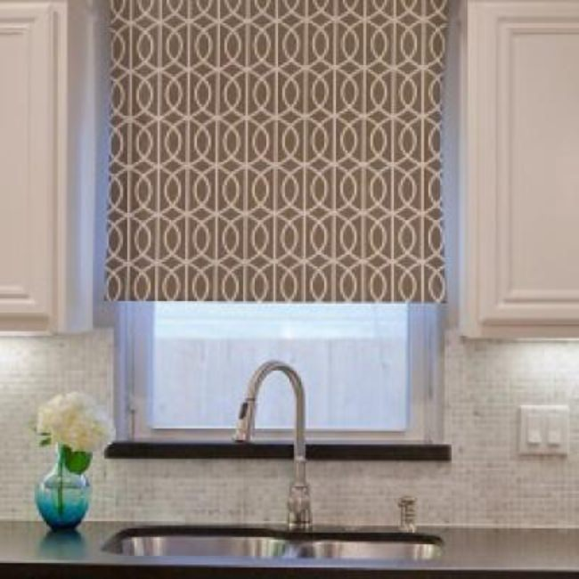Stylish DIY Window Treatment {Shades}