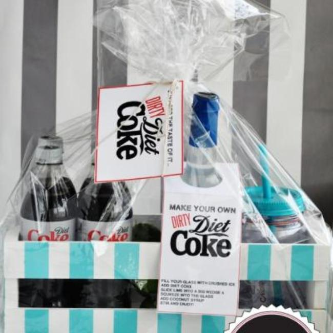 Dirty Diet Coke Kit {free printables}