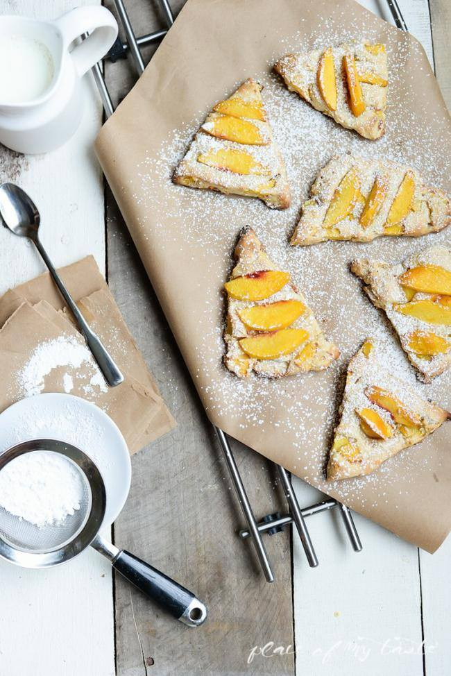 Peach Scone Recipe