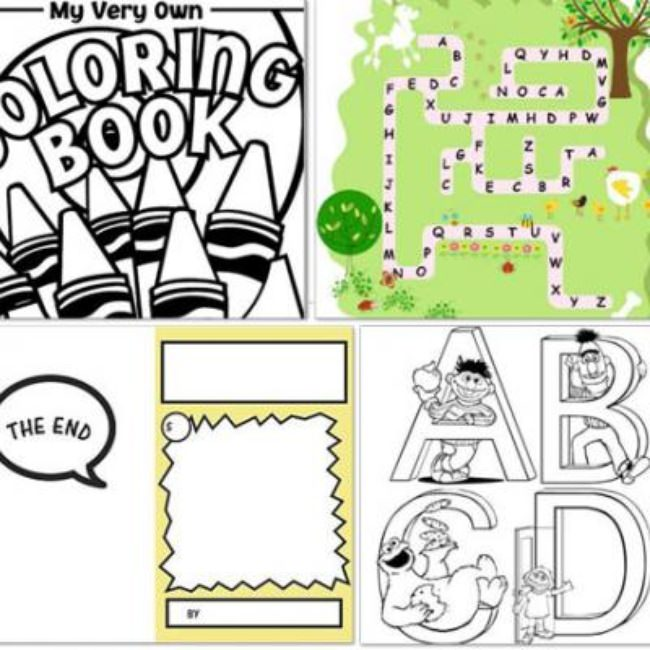 20 Free Coloring Pages For Kids {Free Printables}