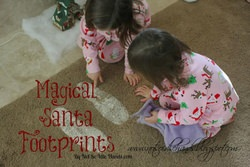 Magical Santa Footprints for Christmas Morning
