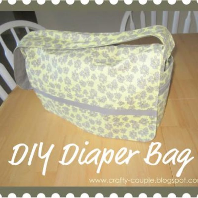 Make Your Own Baby Bag {Diaper Bag}