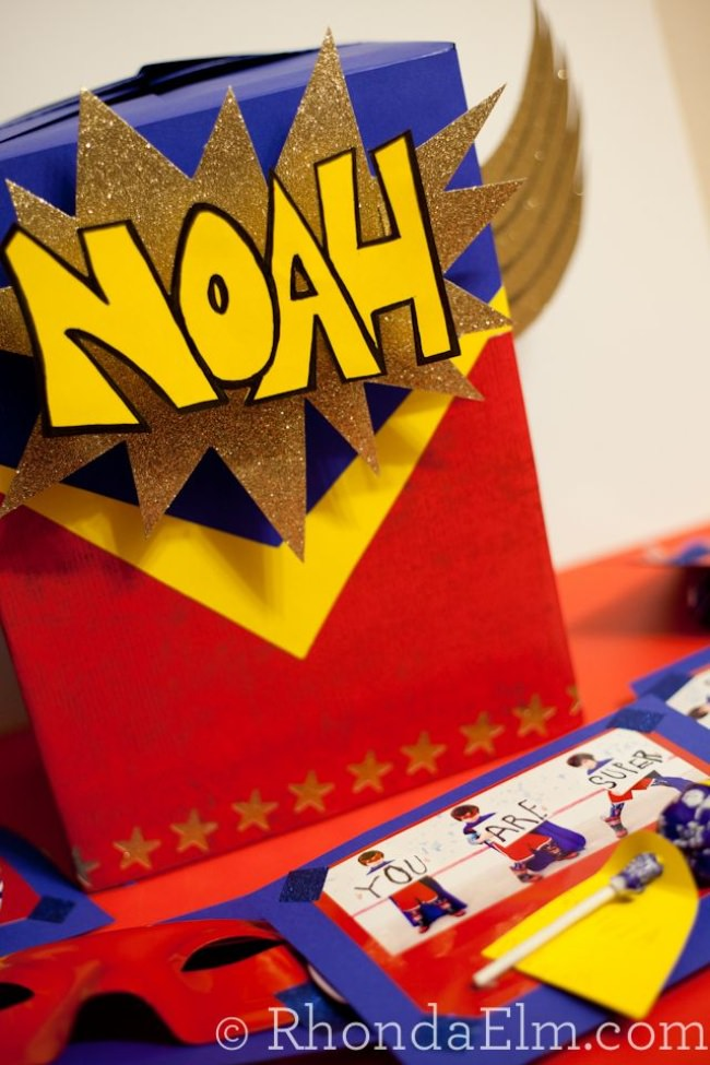 Super Hero Valentine Box