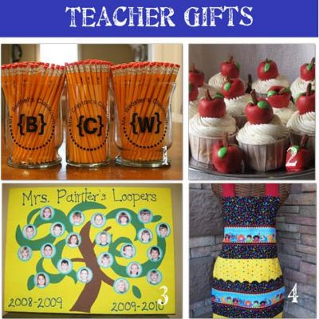 24 Teacher Appreciation Gifts {Homemade Gifts}