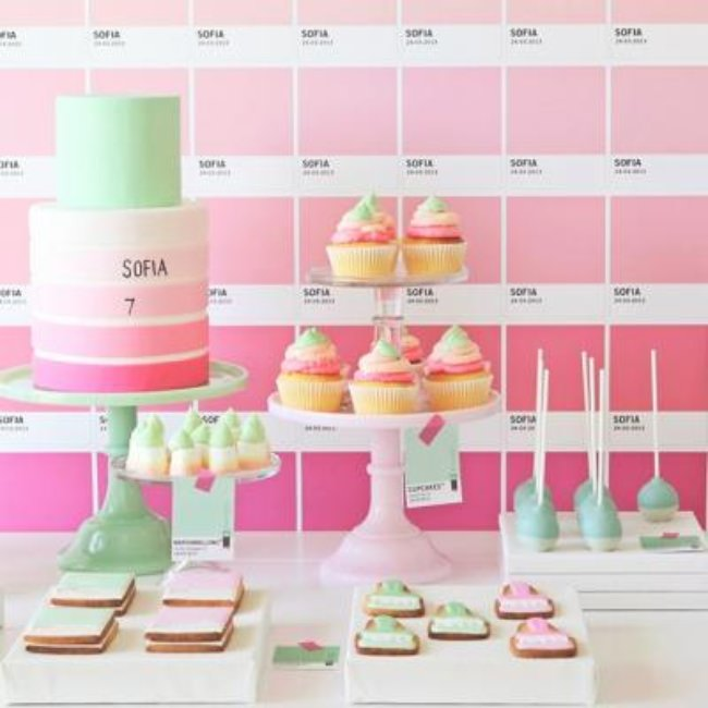 Pantone Art Party {themed party idea}