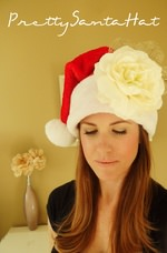 DIY Pretty Santa Hat