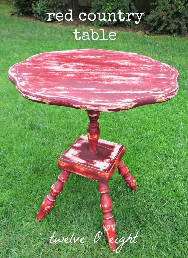 Red Country Table