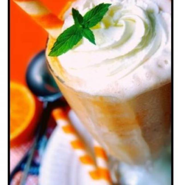 Orange Cream Floats {Recipe}