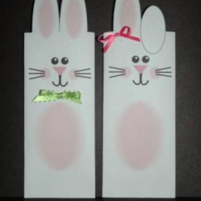 Easter Bunny Wrappers {printable}