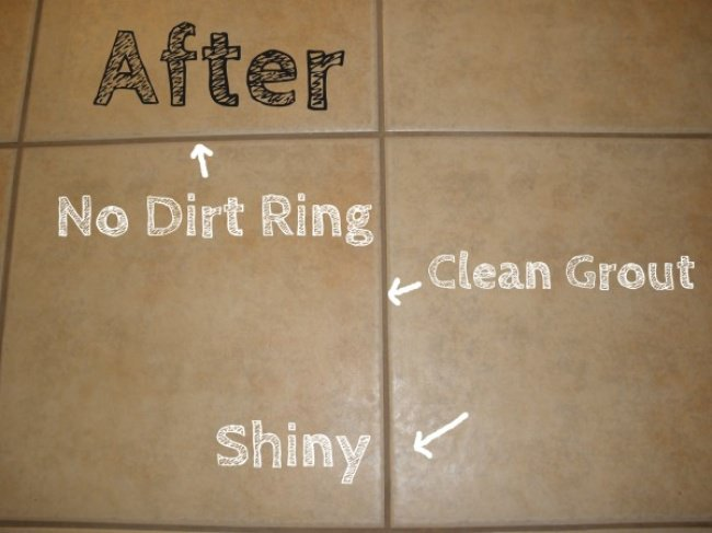 Easy Homemade Tile & Grout Cleaner