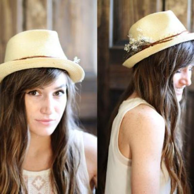 Fedora Hat Makeover {Hats}