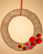 How to Make A Burlap Valentine Wreath In 3 Easy Steps