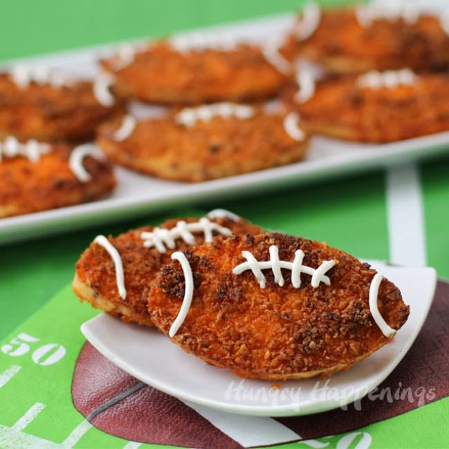 Doritos Crusted Football Fritters
