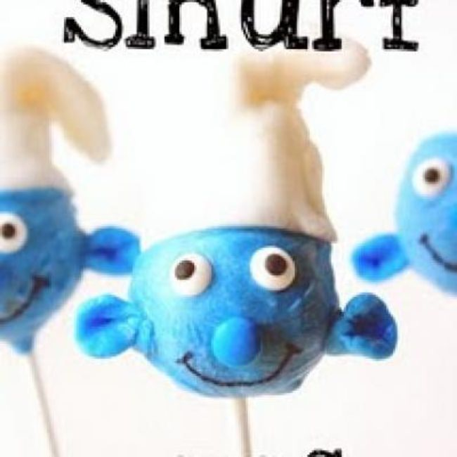 Smurf Pops {How To Make a Cake Pop|