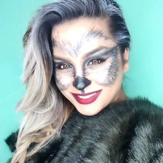 Easy Animal Halloween Makeup Tutorials Tip Junkie
