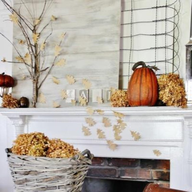 10 Fall Mantels {home decor}