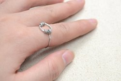 Tutorial on Wire Wrapping a Ring with Brass Wire and Jump Ring