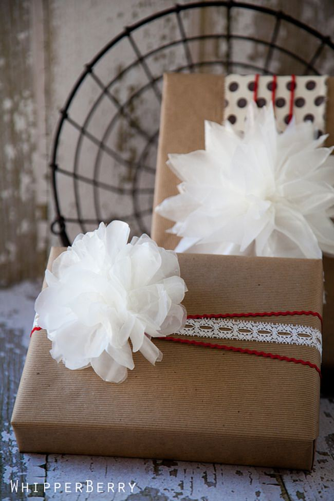72 Beautiful DIY Gift Wrap and Tags