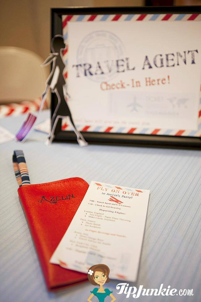 Flight Plan ~ Travel Party Agenda {printable file}