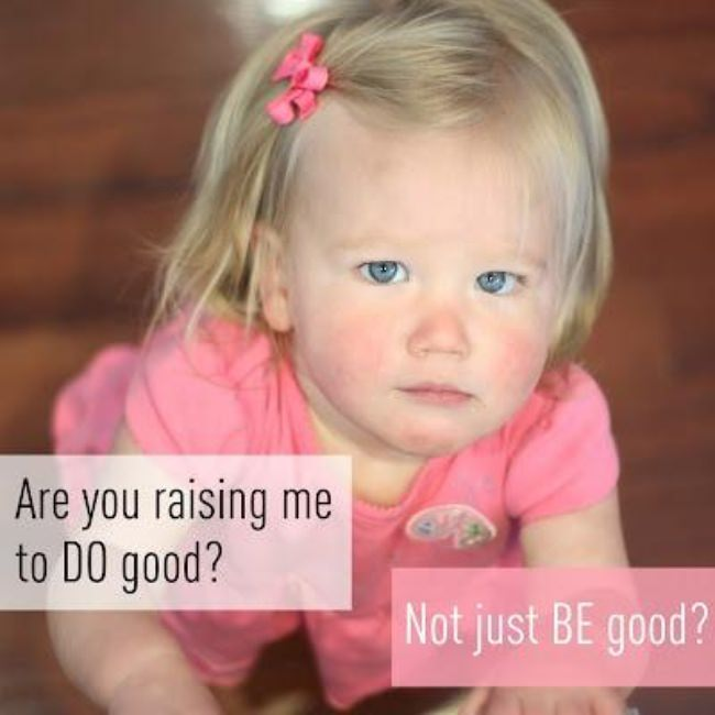 Raising Children to DO Good {Parenting}