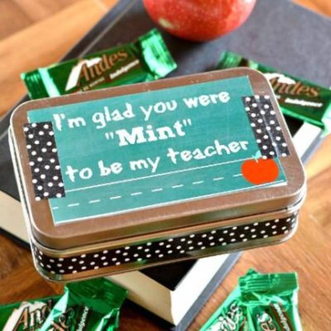 You Were Mint To Be My Teacher {teacher gift & printable}