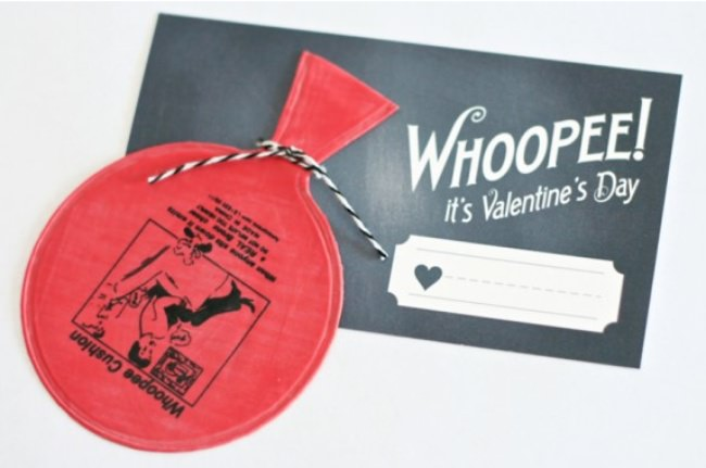 Whoopee It's Valentine's Day Printable {Funny Valentines}