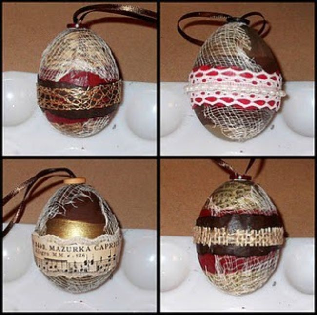 Nifty Egg Ornament Tutorial