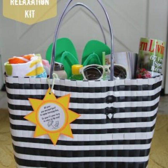 Summer Fun Tote for Teachers