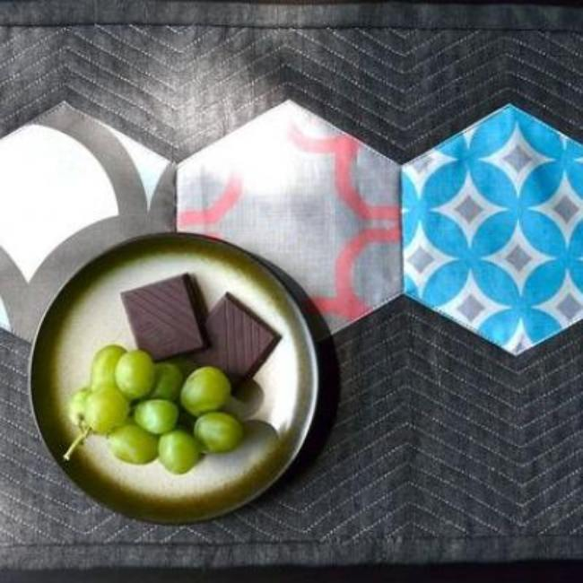 Quilted Hexagon Placemat {Home Accessories}