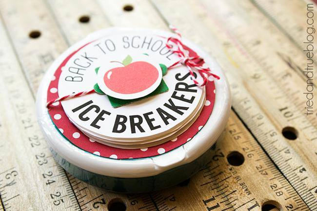 Ice Breaker Back to School Teacher Gift