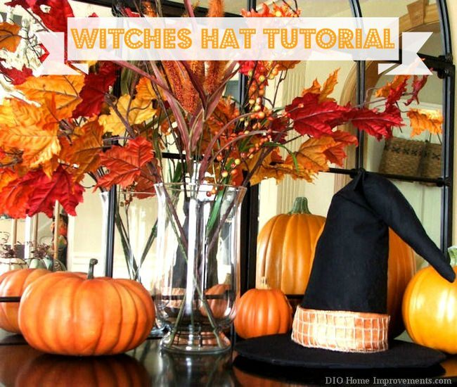 DIY Witches Hat