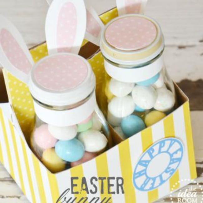 Easter Bunny Jar Gift Set {Easter Gifts}