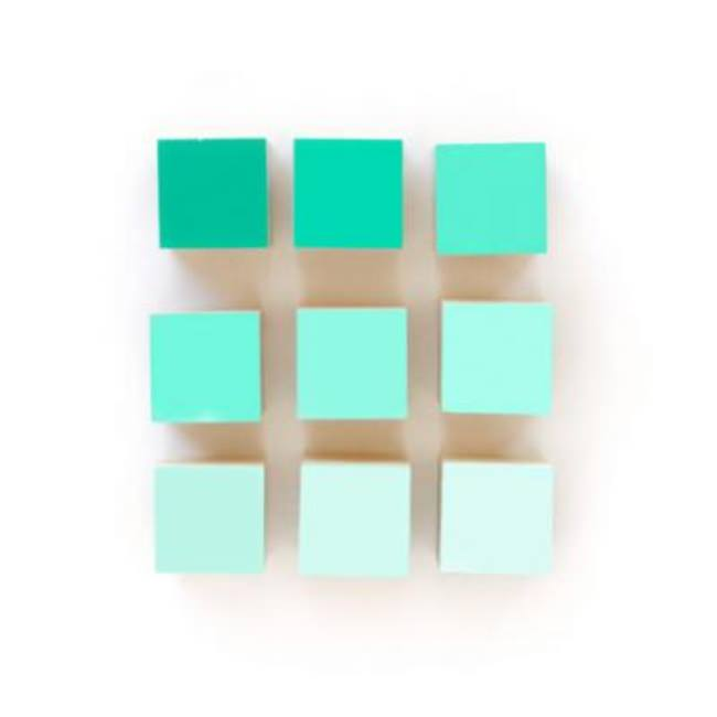 Wooden Gradient Blocks {Wood Toys}