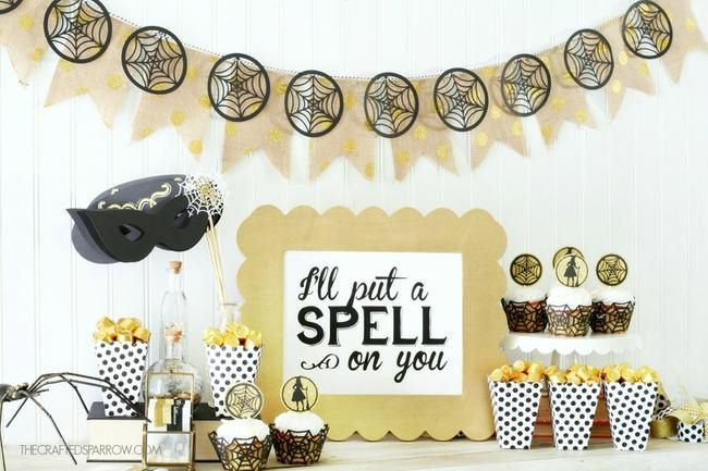 Easy Halloween Party Decor