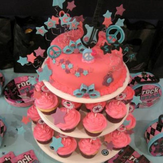 Rock Star Birthday Bash {Tween or Teen Girl Party Ideas}